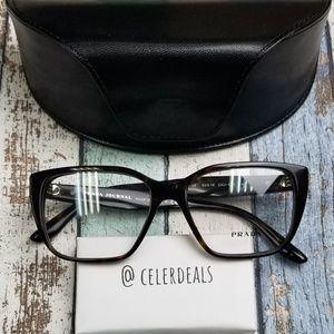 Prada VPR 08T 2AU-101 Acetate Eyeglasses/VIE306